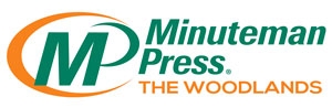 Minuteman press logo - The woodlands