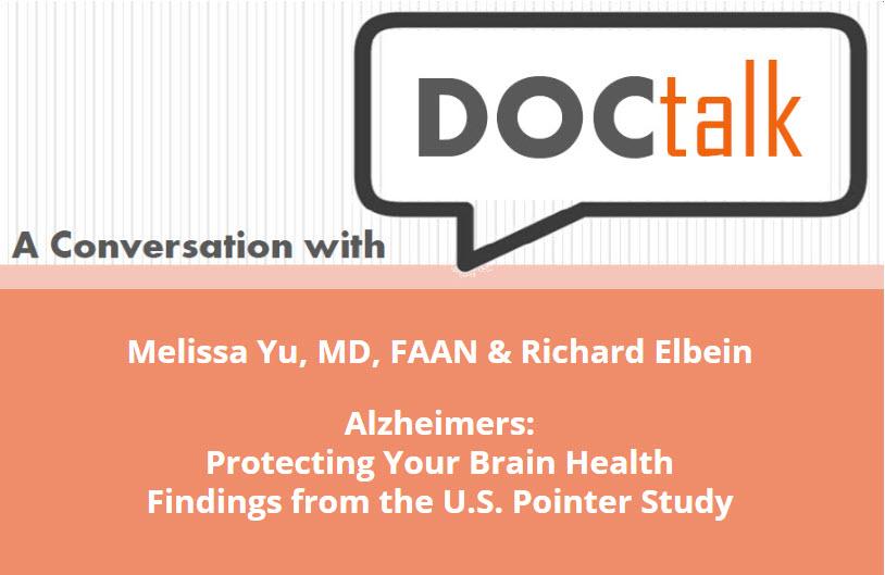 Doc Talk – Alzheimer's Protecting Your Brain Health