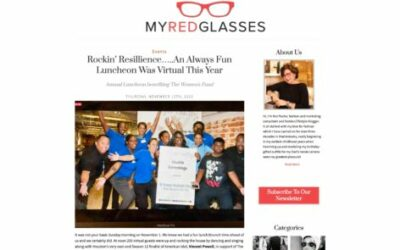 Rockin' Resillience … An Always Fun Luncheon Was Virtual This Year